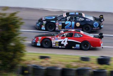 William Ayer - Record News Racing Team - Chevrolet Camaro vs. Wilfried Boucenna - Dasi Racing Team - Ford Mustang