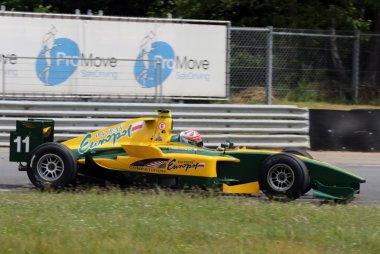 Jakub Smiechowski - Dallara-GP2 Asia 2011