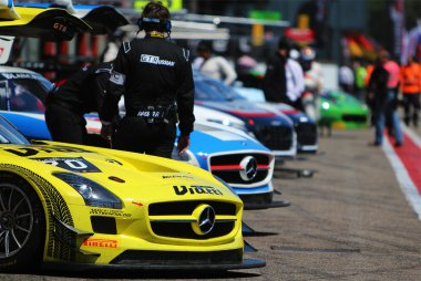Ambiance Blancpain Sprint Series Zolder 2015