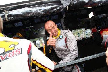 Bas Leinders na de zege in de 24 u  van Francorchamps 2015