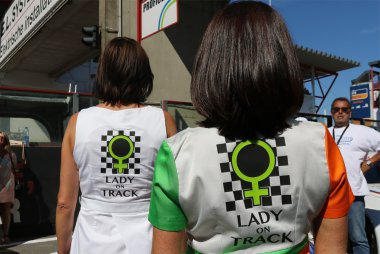 Lady on Track