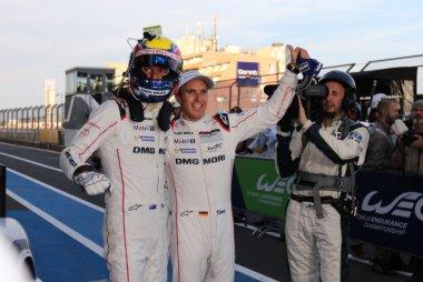 Mark Webber & Timo Bernhard