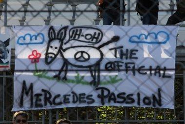 Mercedes fans GP Italië 2015