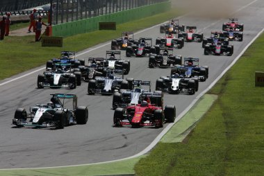 start GP Italië 2015