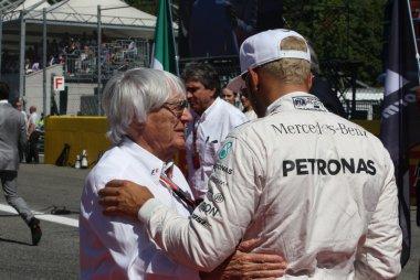 Bernie Ecclestone Lewis Hamilton