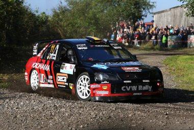 Chris Van Woensel - Mitsubishi Lancer WRC 05