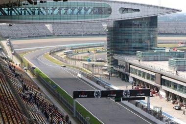 pit exit Shanghai International Circuit
