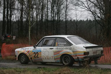 d' Ambrosio/Gauthier - Ford Escort RS 2000 MkII