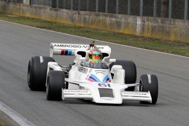 Jason Wright met Shadow DN8 in Historic GP