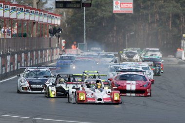 Start Belcar Endurance race 2016