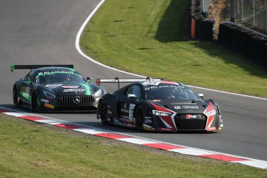 Blancpain Race Brands Hatch WRT AUDI R8 lms
