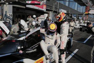 Porsche Team Porsche 919 Hybrid Francorchamps pitstop Webber