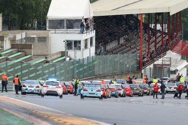 startgrid Belcar Endurance Spa Euro Race 2016