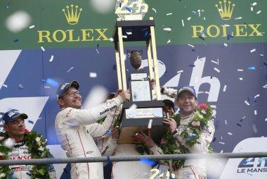 Porsche Team #2 - winnaars 24 Heures du Mans 2016