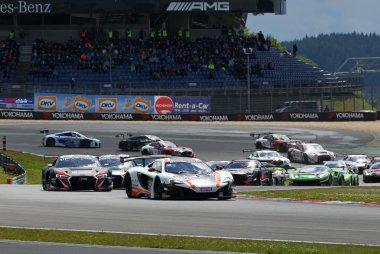 Start Main sprint race  BLANCPAIN Nurburgring 2016