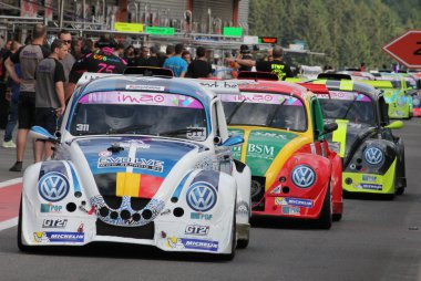 Pitlane VW Fun Cup 25 Hours of Spa 2016