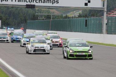 start Miltek Sport VW Racing Cup Spa 2016