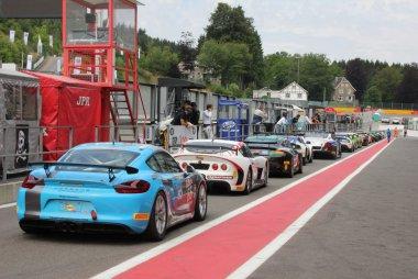 Pitlane British GT Spa 2016