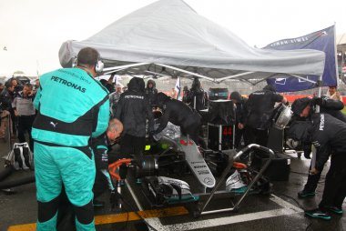 wagen Lewis Hamilton - Mercedes F1 Team