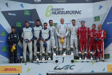 podium LMGTE Am 2016 6 Hours of Nürburgring