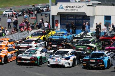Parc fermé ADAC GT Masters Nürburgring