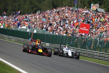 Daniel Ricciardo & Valtteri Bottas - Red Bull Racing & Williams Martini Racing