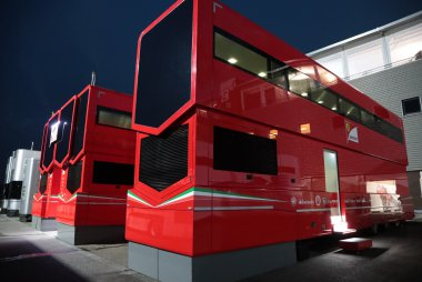 Ferrari Motor Home F1 GP België 2016