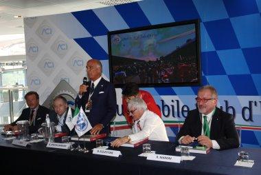 Persconferentie ACI & FIA
