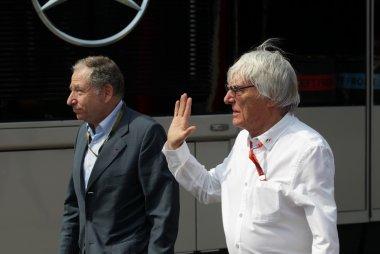 Jean Todt & Bernie Ecclestone