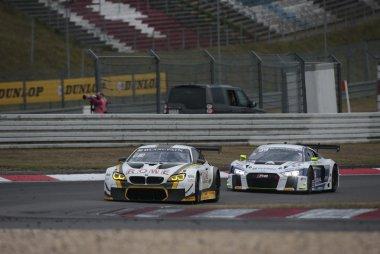 Rowe Racing & Saintéloc Racing - BMW M6 GT3 & Audi R8 LMS GT3