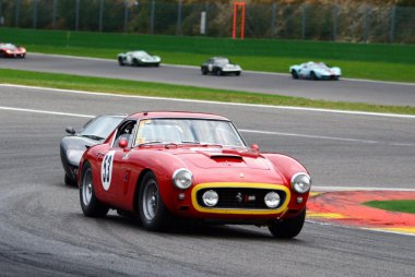 Clive Joy/Christian Traber/Patrick Simon - Ferrari 250 GT SWB Comp.