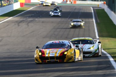 JMW Motorsport - Ferrari F458 Italia GTE