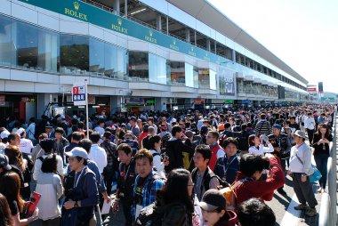 Pitwalk 2016 WEC 6 Hours of Fuji