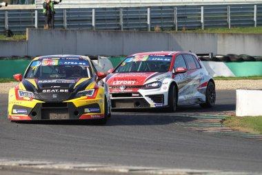 RACB National Team & Delahaye Racing Team - Seat León Cup Racer & Volkswagen Golf GTI TCR