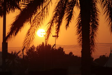 Zonsondergang WEC 6 Hours of Bahrain 2016