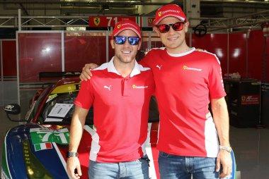 Sam Bird & Davide Rigon - AF Corse #71