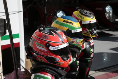 Helmen Ricardo González, Bruno Senna & Filipe Albuquerque - RGR Sport by Morand