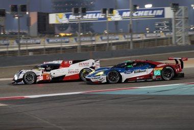 Toyota Gazoo Racing & Ford Chip Ganassi Racing Team UK - Toyota TS050 Hybrid & Ford GT