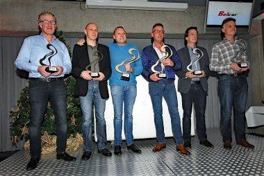 Podium 2016 Belcar Endurance Championship Belcar 4
