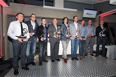 Podium 2016 Belcar Endurance Championship Belcar 5