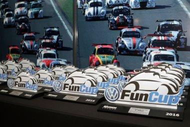 Trofeeën VW Fun Cup Awards Night 2016