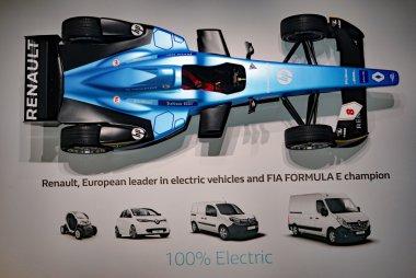 Reclame elektrische wagens Renault
