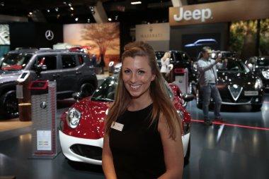 Hostess Alfa Romeo Autosalon Brussel 2017