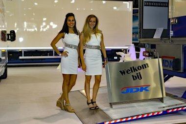 Hostessen JDK Autosalon Brussel 2017