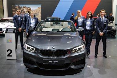 Hosts & Hostessen BMW Autosalon Brussel 2017
