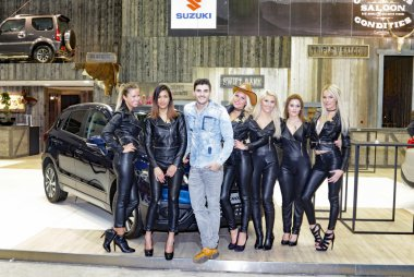 Host & Hostessen Suzuki Autosalon Brussel 2017