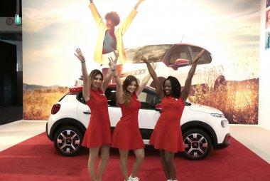 Hostessen Citroën Autosalon Brussel 2017