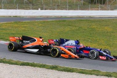 Stoffel Vandoorne & Daniil Kvyat - McLaren & Toro Rosso