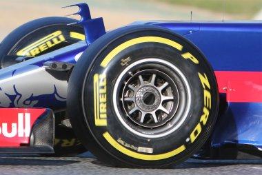 Detail geblazen wielmoer Toro Rosso STR12