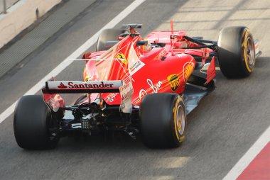 Ferrari SF70H achteraanzicht